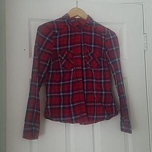 Fitted Flannel Button Down